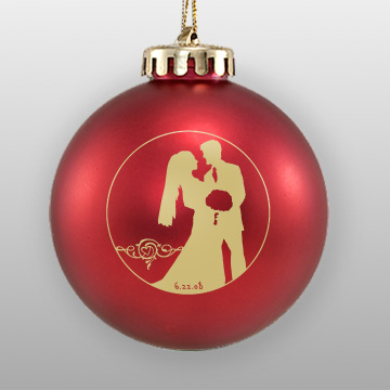Original Design Wedding Favor Ornament