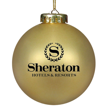 Promotional Ornament Gold