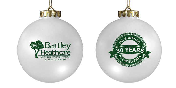 Two-Sided Custom Acrylic Promotional ornament