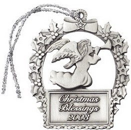 Custom Pewter Stock Design Angel
