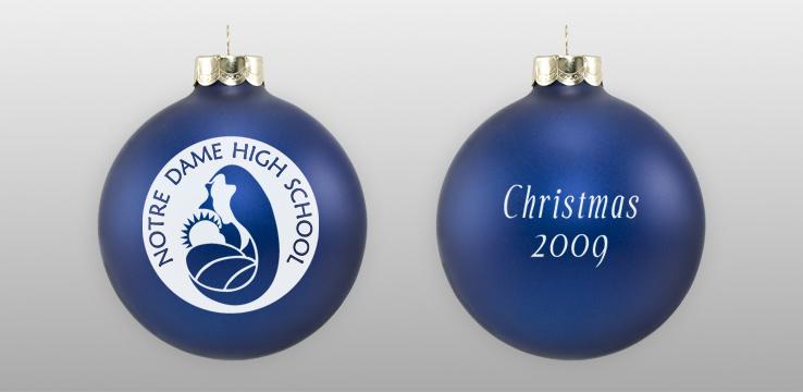 Personalized Custom School Ornament