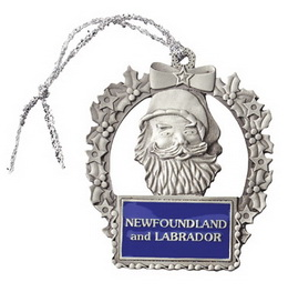 Custom Pewter Stock Design Santa